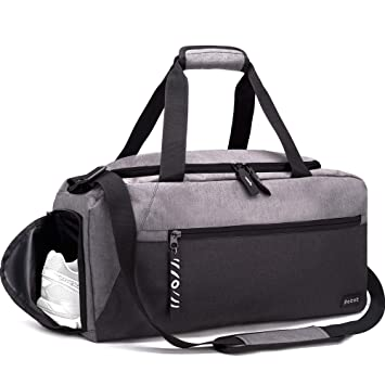 e07b1f0fc67 Image Unavailable. Image not available for. Color  Rotot Sport Duffle Gym  Bag, Men Women ...