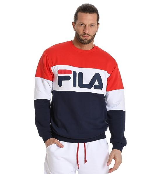 Fila - Sudadera - para Hombre Marke Talla S: Amazon.es: Ropa y accesorios