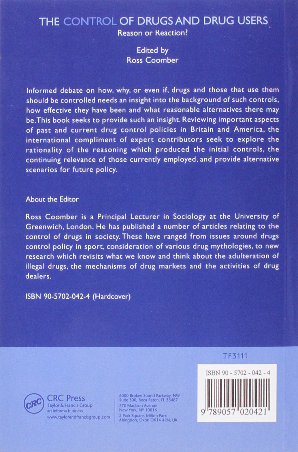 reaction paper about illegal drugs