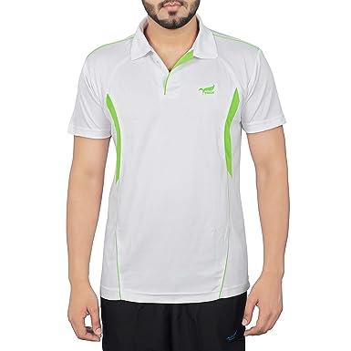 Nnn Men S White Half Sleeves Dry Fit Sports T Shirt Size Xxxxxl