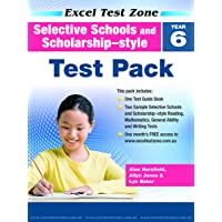 Excel Test Zone Selective Schools and Scholarship-style Test Pack Year 6