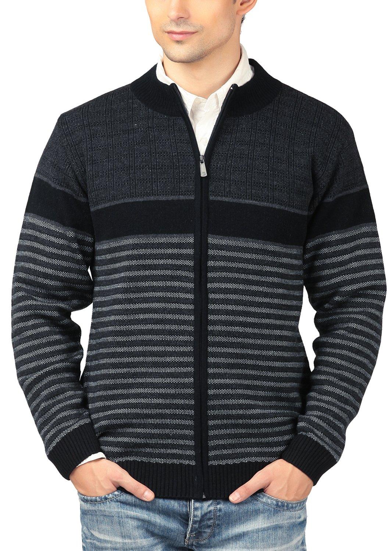 aarbee Men's Woollen Sweater (HW90406 Large, Black) (B01IHRVJHU) Amazon Price History, Amazon Price Tracker