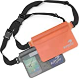 Waterproof Fanny Pack Pouch (2 Pack) for Men & Women Dry Bag Water Resistant with Adjustable Waist Strap - Protects Valuables