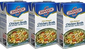 Swanson Chicken Broth - 32 oz. - 3 ct.