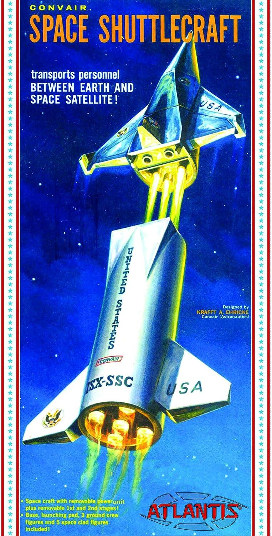 Convair Shuttlecraft Space Ship 1/150 Plastic Model Kit Atlantis