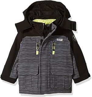 c539f89e5 Amazon.com: Snozu Soft Shell Jacket for Boys (XS 5/6, Charcoal ...