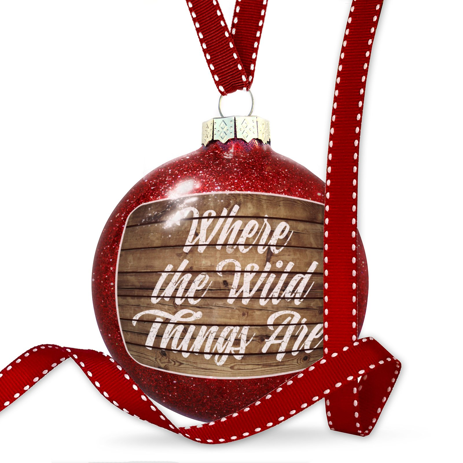Christmas Decoration Painted Wood Where the Wild Things Are Ornament