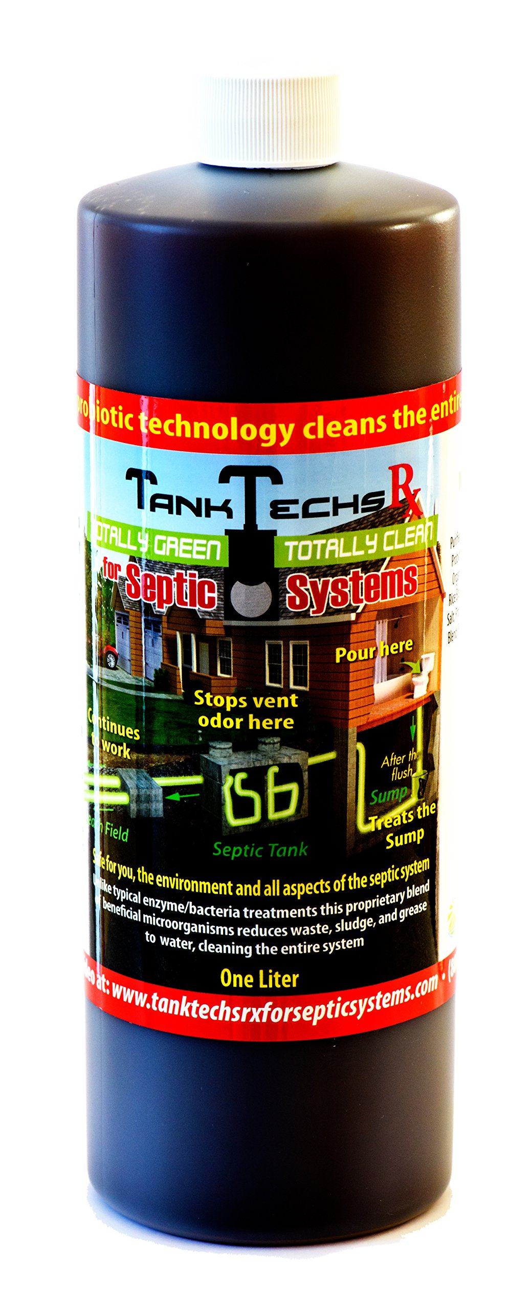 Forget About It for Septic Systems - natural probiotics by TankTechs Rx 25775