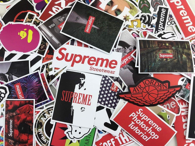 Sticker pack 100 pcs mrx planet custom supreme hypebeast streetwear stickers decals vinyls for laptopkidsteenscarsmotorcyclebicycleskateboard