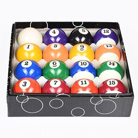 Amazon.com   T R sports Deluxe Billiards Pool Ball Set - Regulation ... 22e96811e9