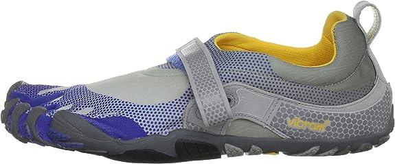Vibram Five Fingers Bikila 5F/M349BG-47 - Zapatillas de Fitness para Hombre, Color Gris, Talla 47: Amazon.es: Zapatos y complementos