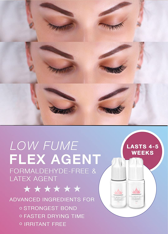 Amazon Lashes Cosmetics Eyelash Extension Glue Stays On