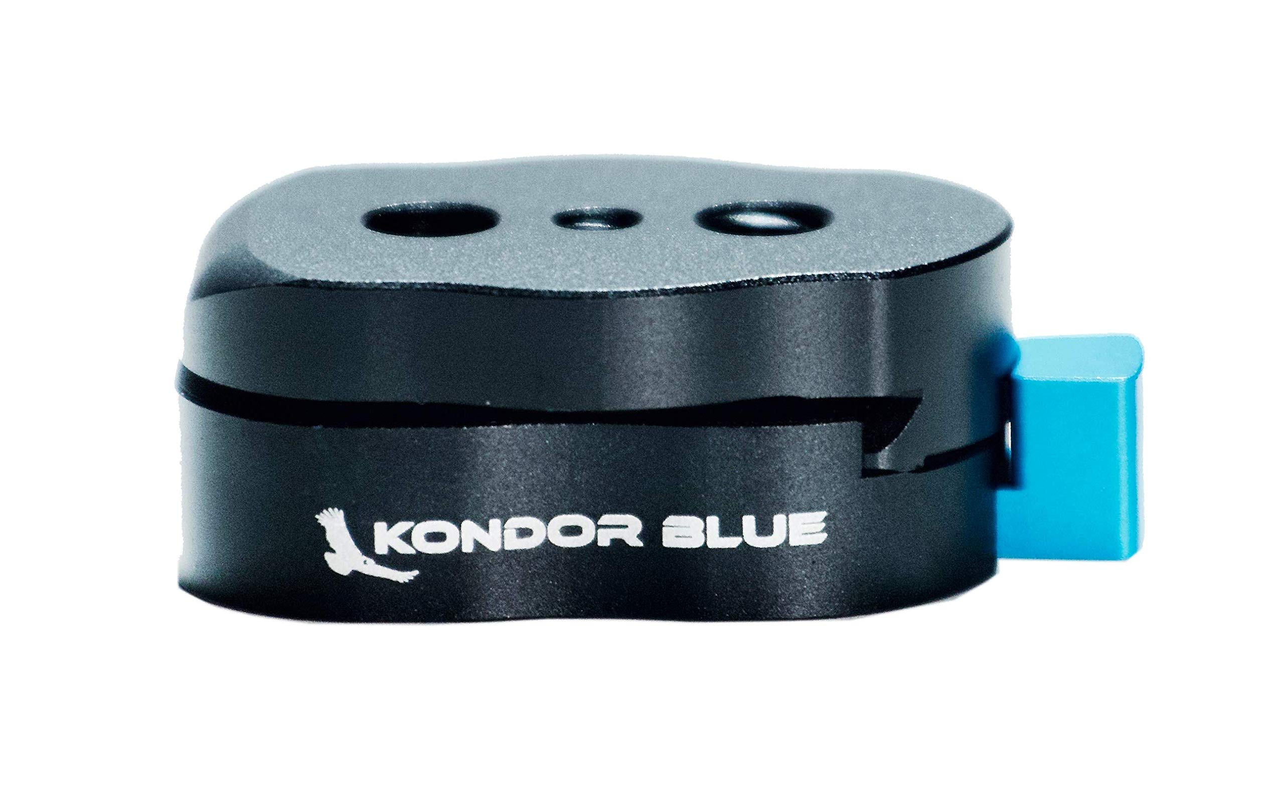 KONDOR BLUE Mini Quick Release Plate LCD Monitors, Magic Arm, LED Light, EVF Mounts, Monitor, Microphones, Recorders, Flash, Gimbals More (Strong Cine Lock)
