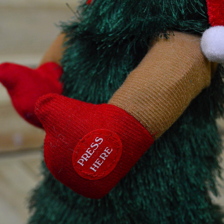 Christmas-Decorations Weihnachtsschmuck XMASTREE batteriebetrieben Dancing Xmas Tree 30/cm