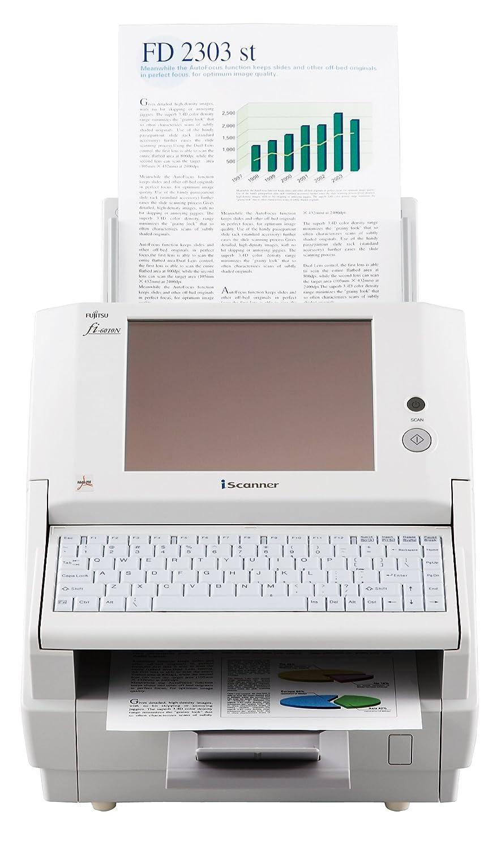 Fujitsu fi-6010N - Escáner (216 x 356 mm, 600 x 600 DPI, 24 bit, 25 ppm, 50 ipm, Escáner con alimentador automático de documentos (ADF)): Amazon.es: ...