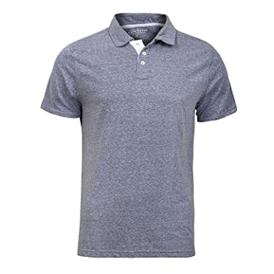 7cfa6f6a 2k17Apr MENS SHORT SLEEVE COLLAR CASUAL MANTARAY POLO TOP COTTON SUMMER T- SHIRT TEES[Steel Blue Marl ,L]: Amazon.co.uk: Clothing