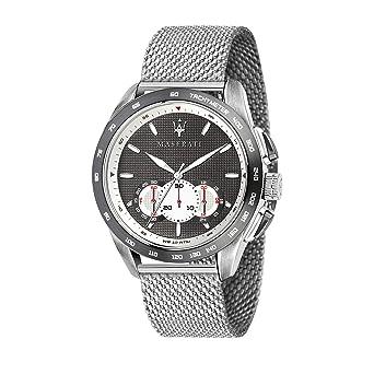 Maserati Reloj Analógico para Hombre de Cuarzo con Correa en Acero Inoxidable R8873612008: Amazon.es: Relojes