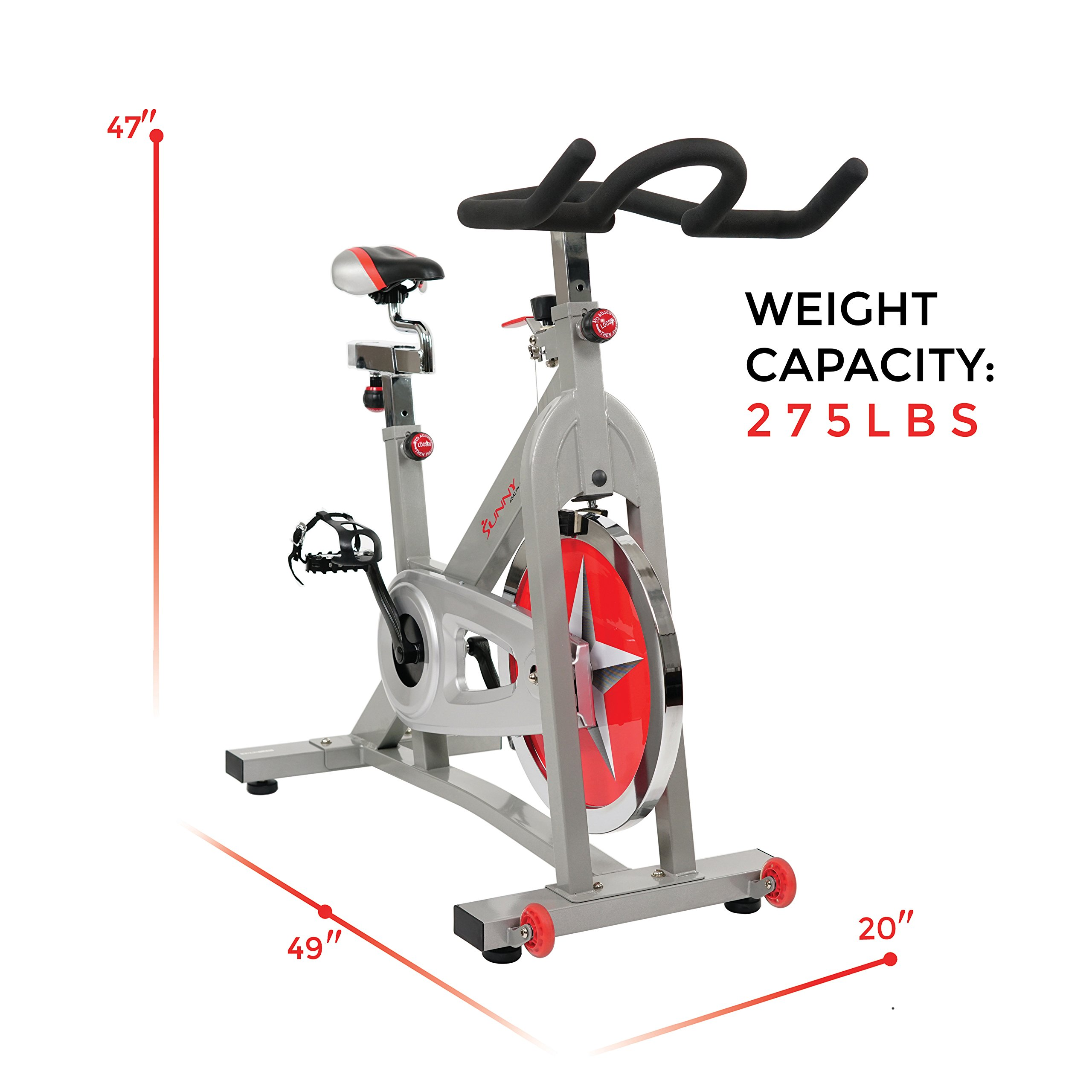 Sunny Health & Fitness Pro Indoor Cycling Bike by Sunny Health & Fitness (Image #13)