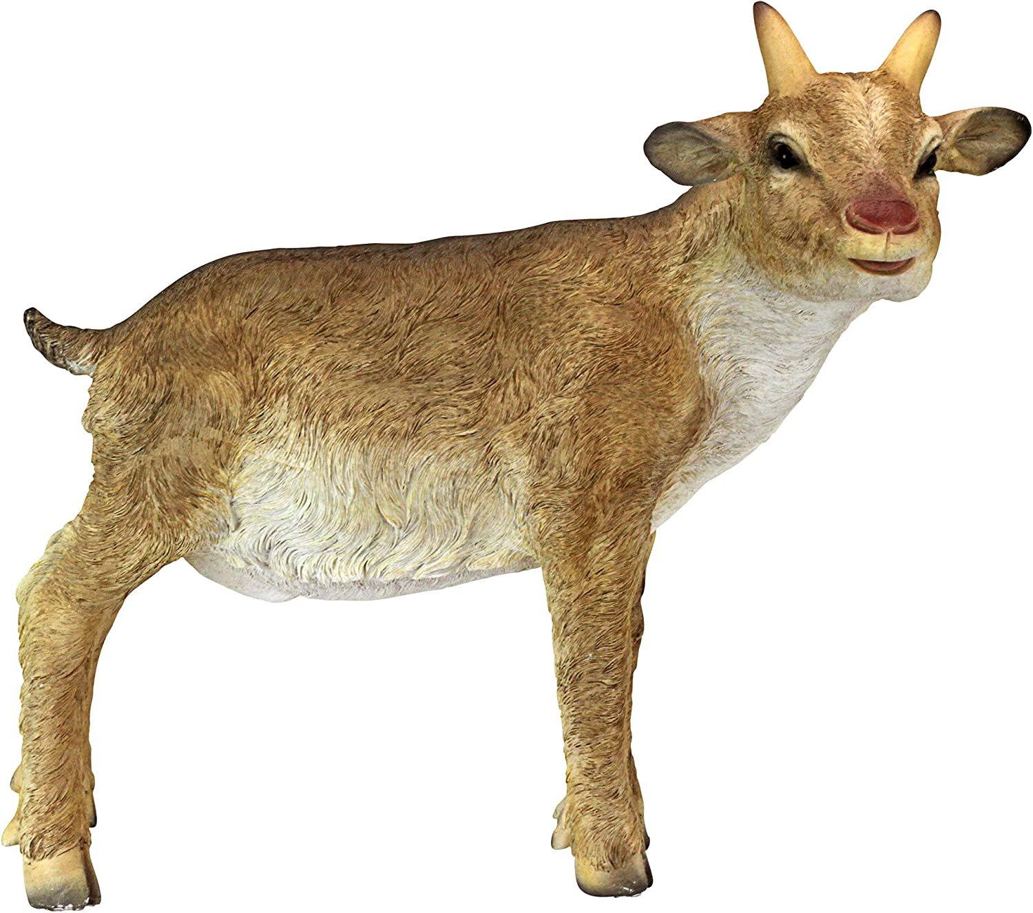 Design Toscano QM21055 Trouble The Billy Goat Farm Animal Statue, One Size, Full Color