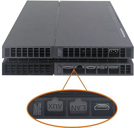 iProtect Tapa Enchufe Anti Polvo para Sony Playstation 4 PS 4 USB ...
