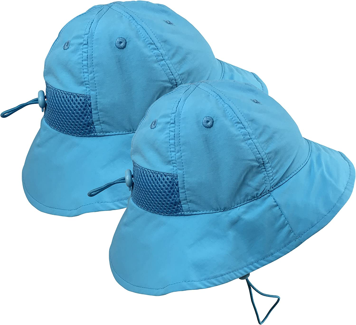 N'Ice Caps Kids 2pc Pack SPF 50+ UV Protection Breathable Sun Hat