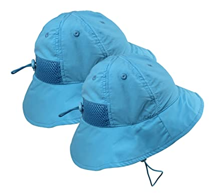268ed029 N'Ice Caps Kids SPF 50+ UV Protection Breathable Adjustable Sun Hat - 2