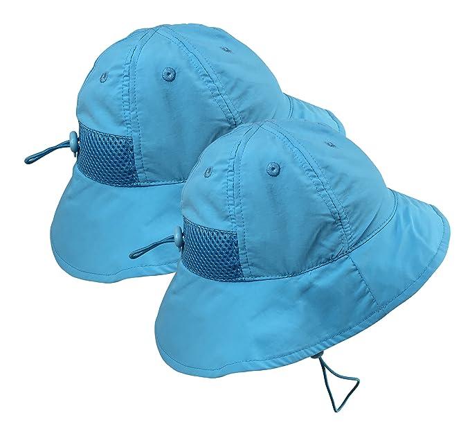 77f6856d08bdf N Ice Caps Kids SPF 50+ UV Protection Breathable Adjustable Sun Hat ...