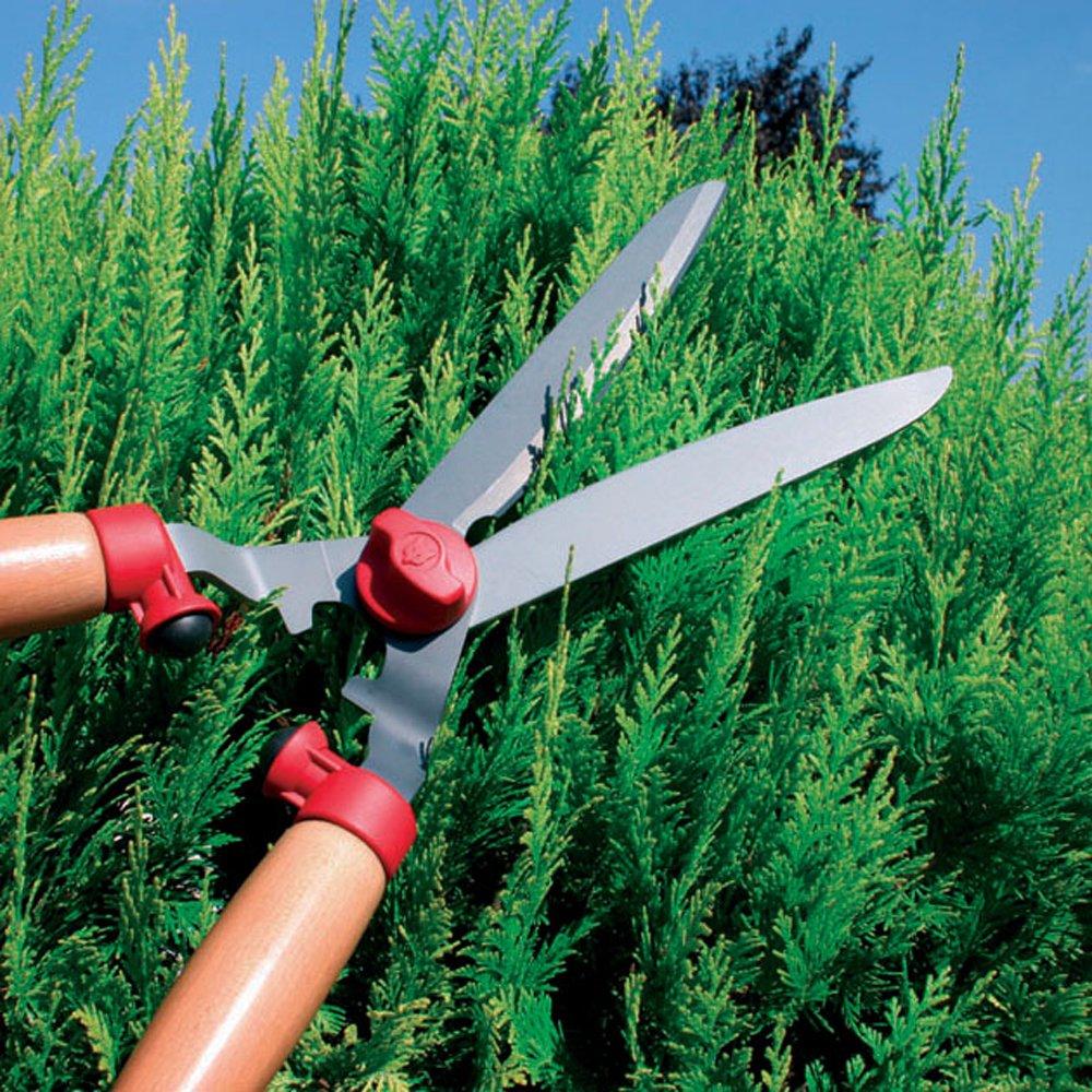 WOLF-Garten Wooden-Handled Hedge Shears, Model HSTL