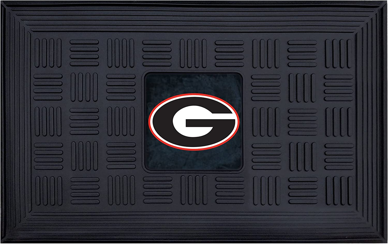 FANMATS NCAA University of Georgia Bulldogs Vinyl Door Mat