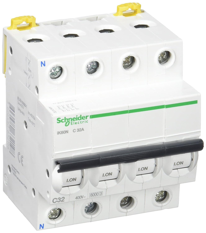 Schneider electric a9/K17106/Interrupteur magn/étothermique automatique ik60/N 1p 6/A c
