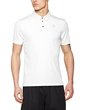 Polos respirants Odlo Peter blancs homme UfQwPk