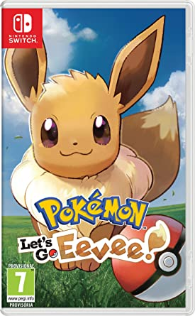 Pokemon Let S Go Eevee Nintendo Switch Amazon Es Videojuegos