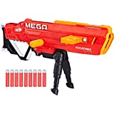 Thunderhawk Nerf AccuStrike Mega Toy Blaster - Longest Nerf Blaster - 10 Official AccuStrike Nerf Mega Darts, 10-Dart…