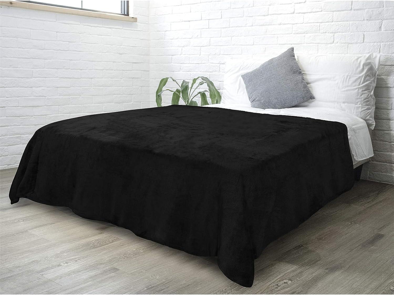 Winter Luxury Flannel Fleece Blanket Plush Soft Bed Blanket Throw Microfiber New