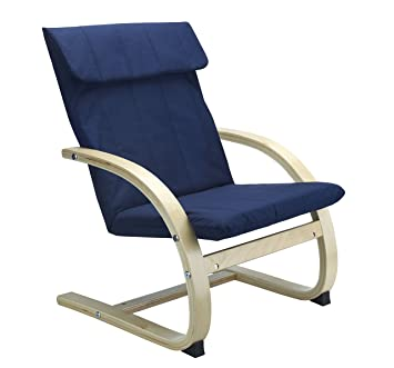 Kids Lounge Chair in BLUE  Bentwood Childrens Chair  sc 1 st  Amazon UK & Kids Lounge Chair in BLUE  Bentwood Childrens Chair: Amazon.co.uk ...