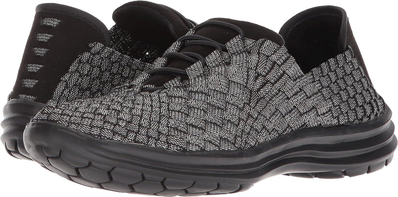 Bernie Mev Women's Victoria Walking Shoe B078Z1YX9W 36 M EU|Black Shimmer