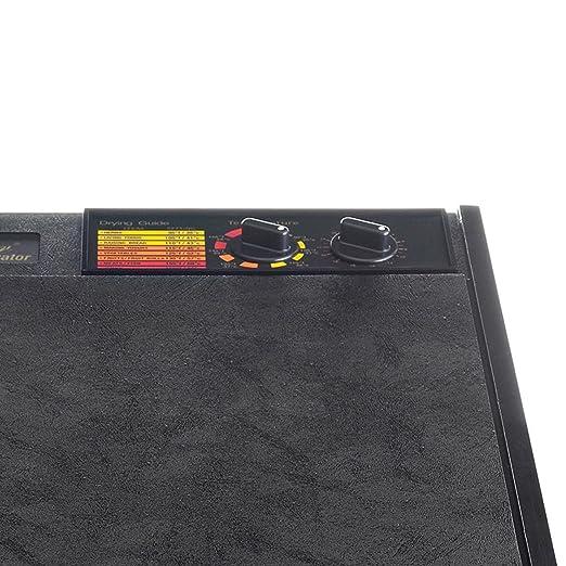 Excalibur EXCALIBUR 5 bandeja deshidratador de alimentos con temporizador, 1: Amazon.es: Hogar