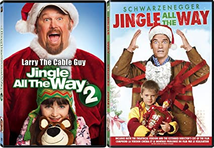 jingle all the way 1 2 double feature holiday arnold larry the cable guy jingle - Arnold Christmas Movie