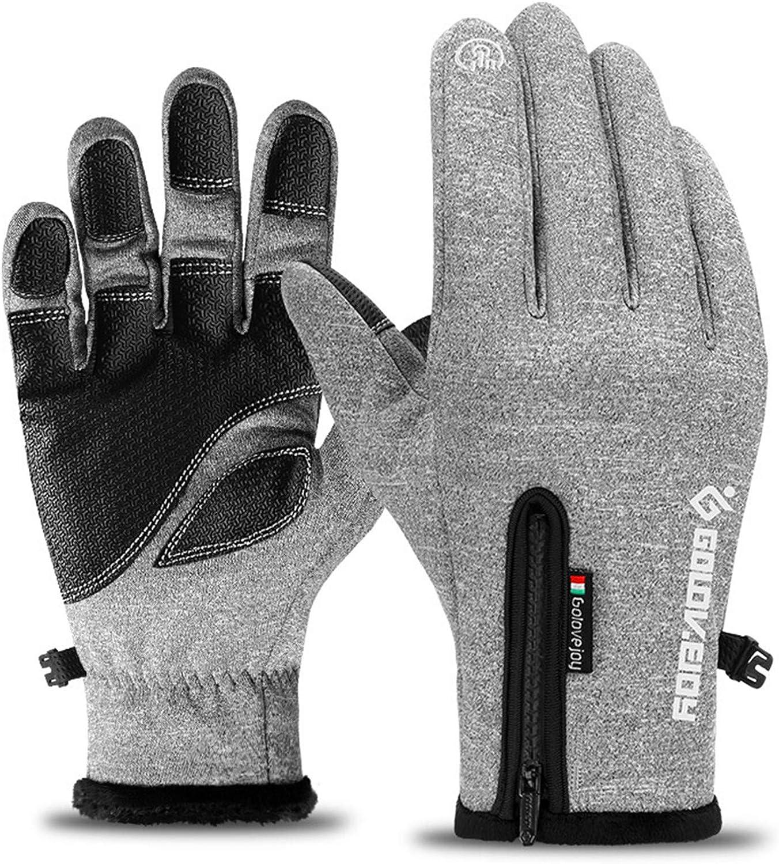Winter Outdoor Sports Gloves Windproof Waterproof Touch Screen Warm Men Women