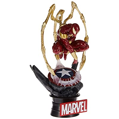 Beast Kingdom Avengers Infinity War: Ds-015 Iron Spider D-Select Series Statue: Toys & Games