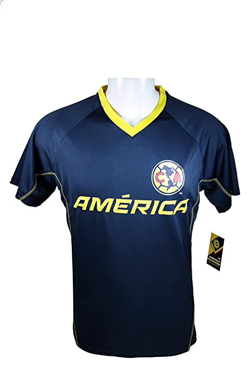 d7386259009 Club America Soccer Official Adult Soccer Training Performance Poly Jersey  -J013 Large