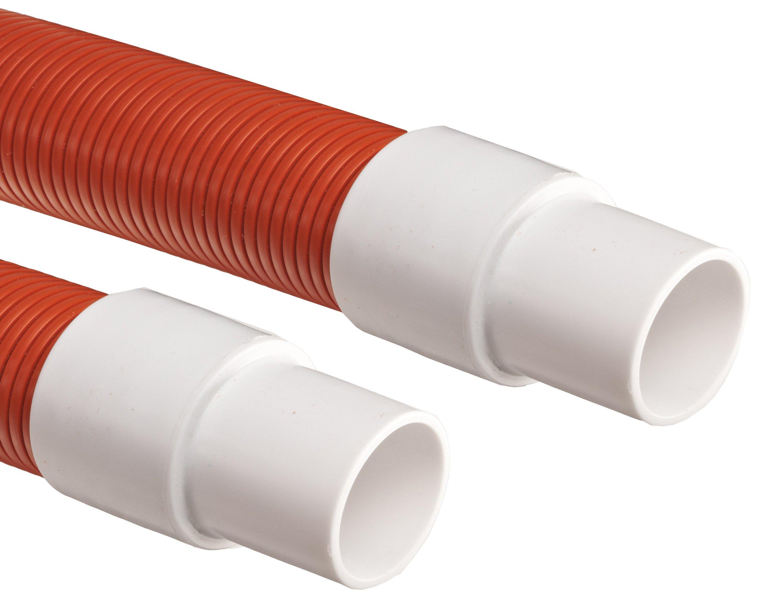 Genesis STM Polyethylene Duct Hose, Orange, 1.5'' ID, 50' Length
