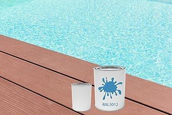 GFK Schwimmbecken Farbe RAL Farben Glänzend Poolfarbe | BEKATEQ LS 405  Schwimmbadfarbe Polyesterbecken Farbe