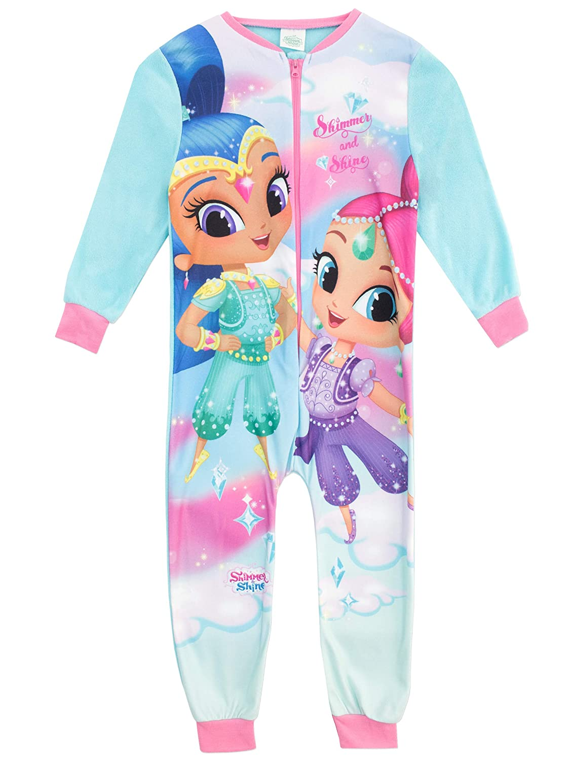 Shimmer & Shine Girls Genies Onesie