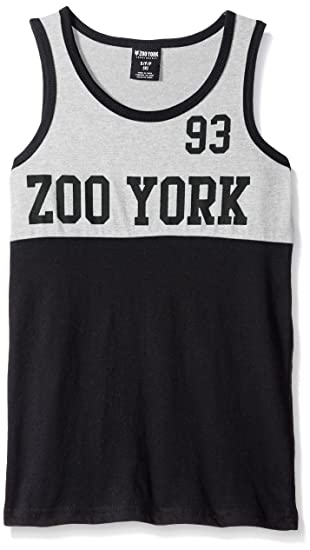 8ad6f9e49a7eb3 Zoo York Tank Top  Amazon.co.uk  Clothing