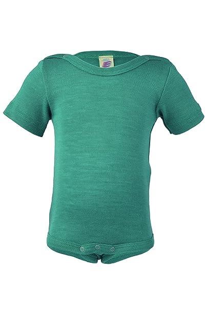Damen Shirt kurzarm kbT 100/% Wolle Engel Natur
