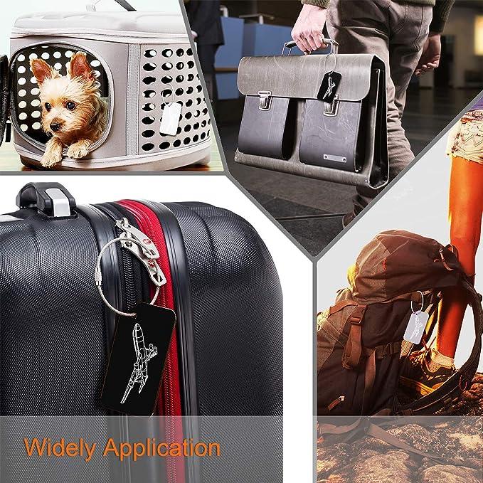6 Pcs 1/'/' G Hook Outdoor Webbing Buckle Luggage Sack Strap Belt 25mm Black