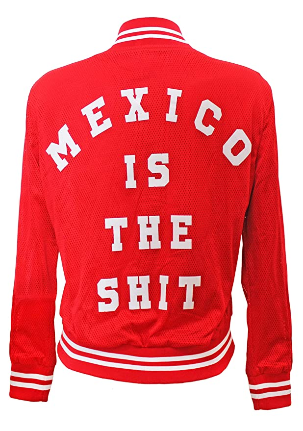 Amazon.com: Mexico is the Shit Original Letterman Jacket for Women: Clothing