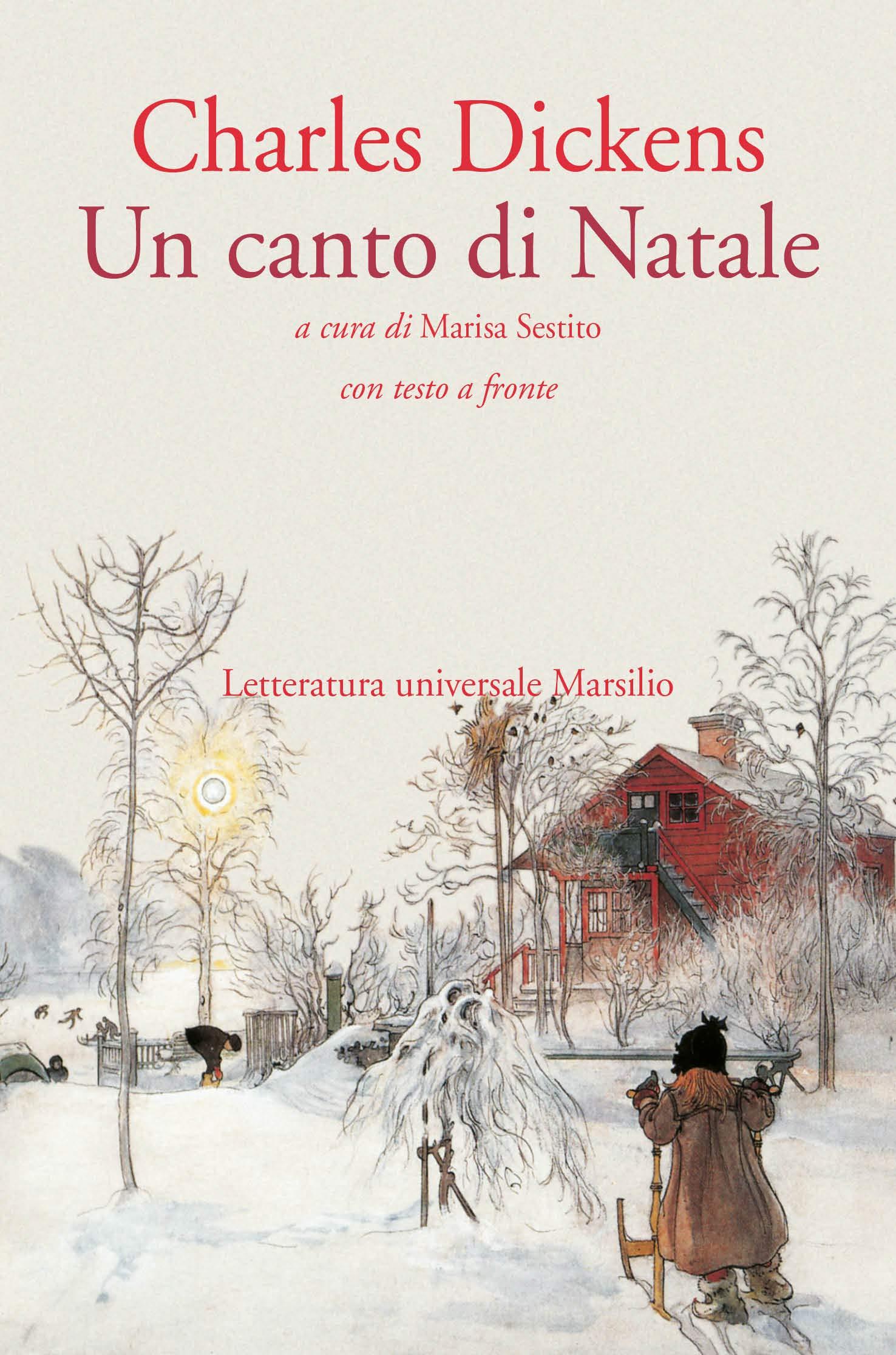 Canto Di Natale Immagini.Un Canto Di Natale Testo Inglese A Fronte 9788831778374
