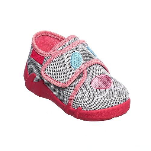 Yaro - Zapatillas de Estar por casa de algodón para niña: Amazon.es: Zapatos y complementos
